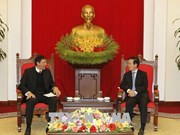Cuban Communist Party delegation welcomed in Hanoi