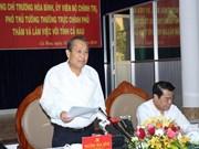 Deputy PM asks Ca Mau to expand marine-based economy
