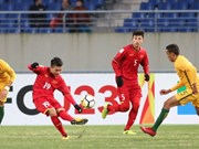 Vietnam beats Australia 1-0 in AFC U23 tournament
