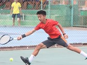 Uy, Thien grab double title at Asia U14 tennis event