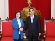 Party official meets with KOICA President
