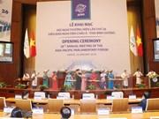 Top legislator chairs rehearsal for APPF-26