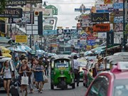 Thailand welcomes record number in foreign tourists