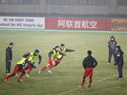 U23 team to write new page in Vietnam's football history