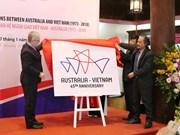 Vietnam, Australia launch 45th anniversary of diplomatic ties