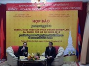 Lao firms to display products in HCM City for first time