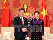 NA Chairwoman receives Chinese People's Congress Vice Chairman