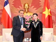 Top legislator of Vietnam receives leader of Chile's lower house