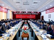HCM City Party Committee Secretary visits Vientiane