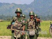 Myanmar tightens security in Rakhine state