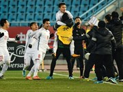 Vietnam's U23 team shakes international media