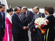 PM Nguyen Xuan Phuc arrives in New Delhi for ASEAN-India Summit