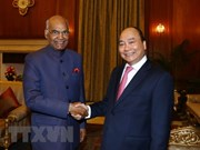 PM meets Indian President on ASEAN – India summit sidelines