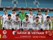 Vietnam's U23 team receives rewards for final march berth