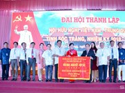 Vietnam-China friendship association established in Soc Trang