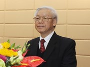 Party leader stresses need to win people's support