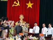 Cambodian delegation visits Vinh Long ahead of Tet