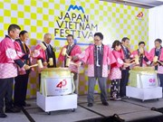 Fifth Vietnam-Japan festival opens in HCM City