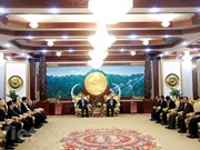 Lao leader hosts Vietnamese Minister of Public Security