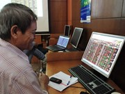 Brokerage stocks push VN-Index up