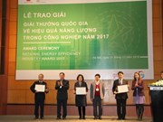 Vietnam Energy Efficiency Industry Awards 2017 presented in Hanoi