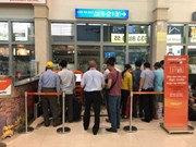 Jetstar Pacific installs check-in kiosks at airport
