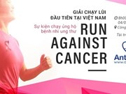 Charity running race fights cancer