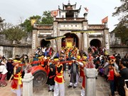 Exhibition re-enacts Vietnam's culture in Co Loa Citadel relic site