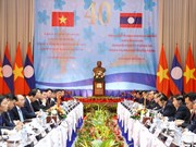 Vietnamese, Lao PMs co-chair Inter-Governmental committee meeting