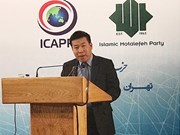 Vietnam active at conference of Asian Political Parties in Iran