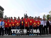 Tens of thousands of fans join exchange with Vietnam's U23 team