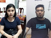 Vietnamese police arrest two wanted Chinese swindlers