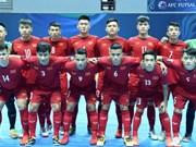 Vietnam in quarters of futsal event