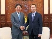 Chinese Ambassador says goodbye to State leader