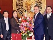 Lao ambassador congratulates CPV on founding anniversary