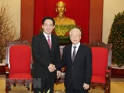 Party chief hosts outgoing Chinese ambassador