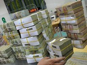 Central bank injects nearly 573mln USD to support liquidity