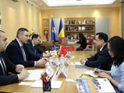 Ambassador seeks stronger relations between Hanoi and Kiev