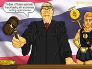Thailand bans banks from dealing with cryptocurrencies