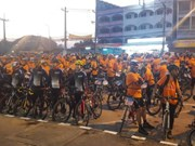 Thailand, Myanmar hold annual cycling activity