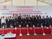 Japanese group builds auto parts factory in Thai Binh