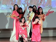 Vietnamese students in Moscow celebrate Tet