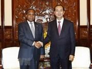 President receives outgoing Mozambican Ambassador