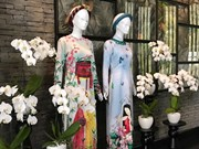 Da Nang luxurious resort hosts Ao dai exhibition of famous designers