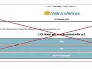 Vietnam Airlines warns flyers of social-media free ticket scam