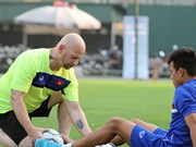 Vietnam signs contract with fitness coach Dominic Palmer