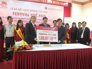 Agribank funds 1 billion VND for Hue Festival 2018