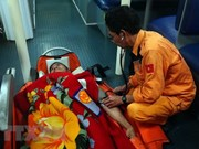 Filipino saved after suffering heart attack at sea