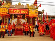 Quang Binh: Cau Ngu Festival of Canh Duong commune held