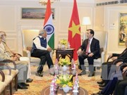 Vietnamese President receives leaders of Indian political parties
